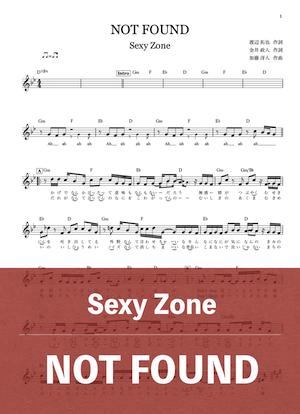 Notfound musicscorejp