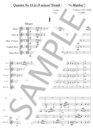 Schubert oboe