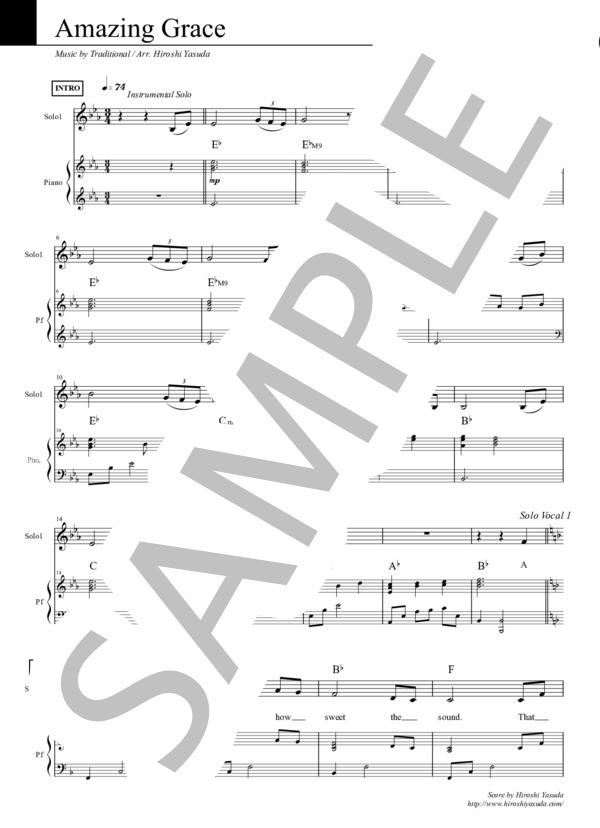 Amazing grace chorus pf 1