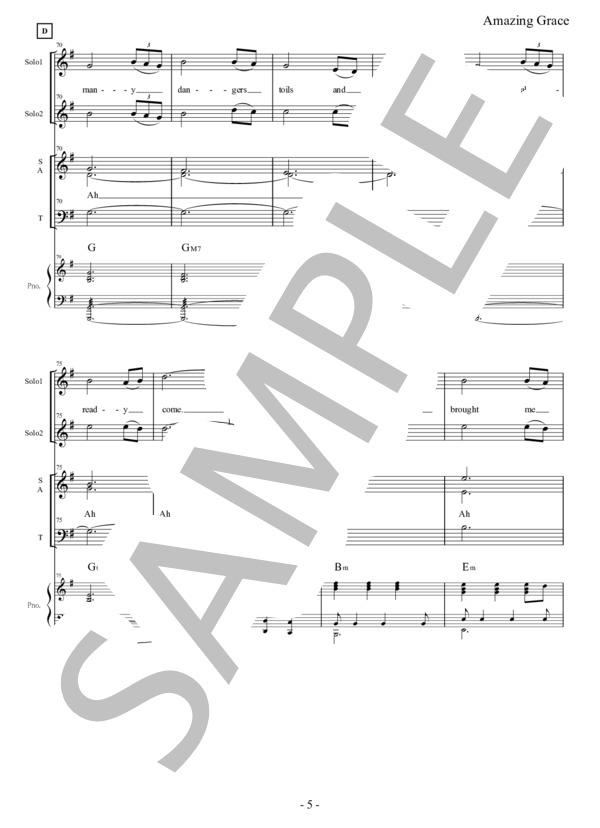 Amazing grace chorus pf 5