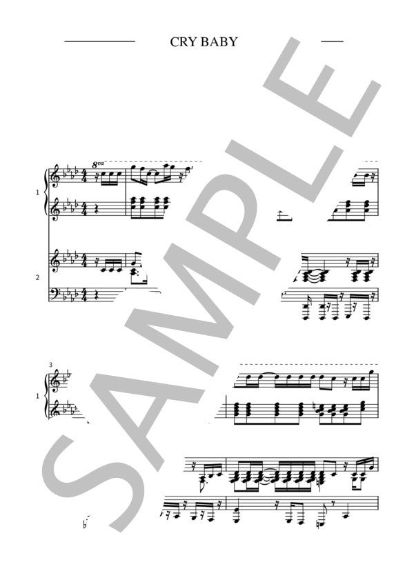 Crybaby pianoduo 1