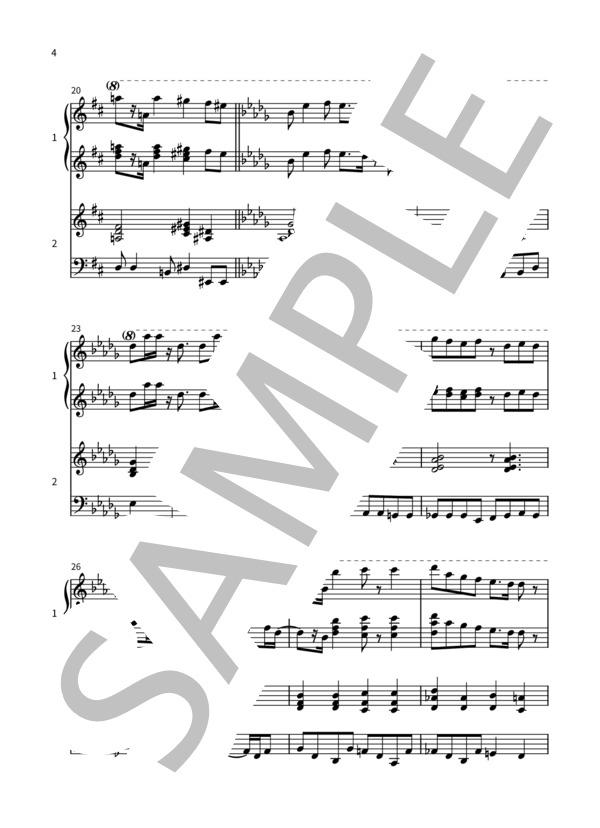 Crybaby pianoduo 4