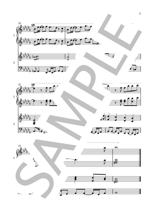 Crybaby pianoduo 5