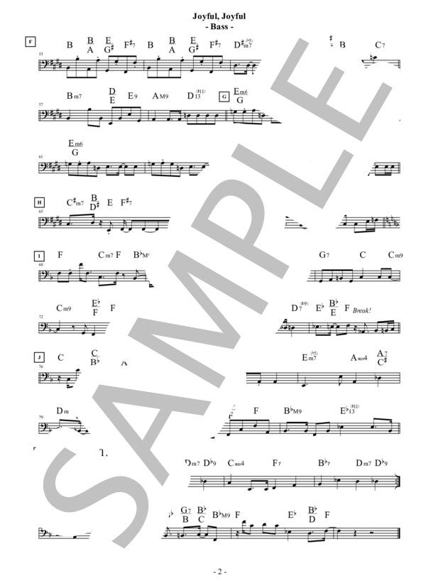 Joyful joyful bass 2