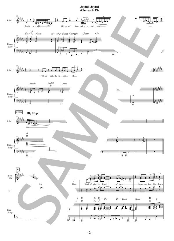 Joyful joyful chorus pf 2