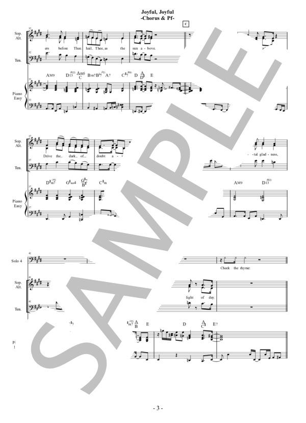 Joyful joyful chorus pf 3