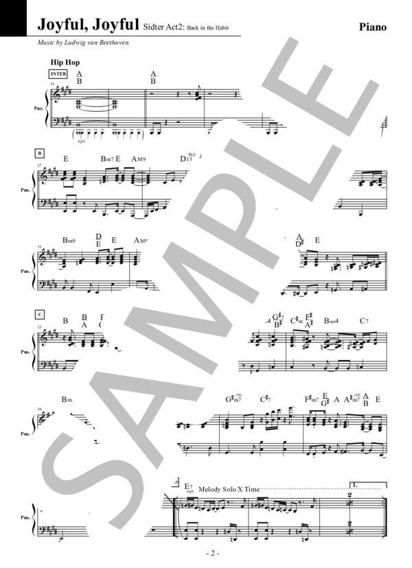 Joyful joyful piano 2