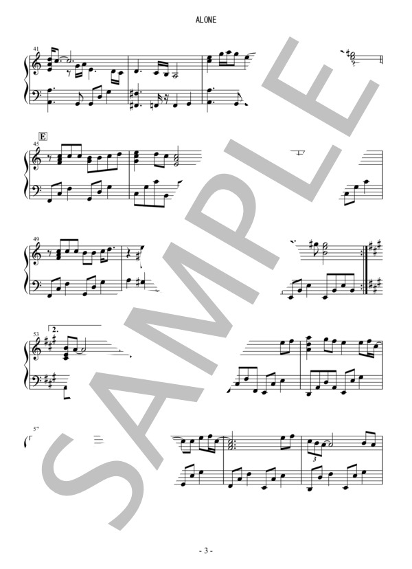 Osmb alone piano 3