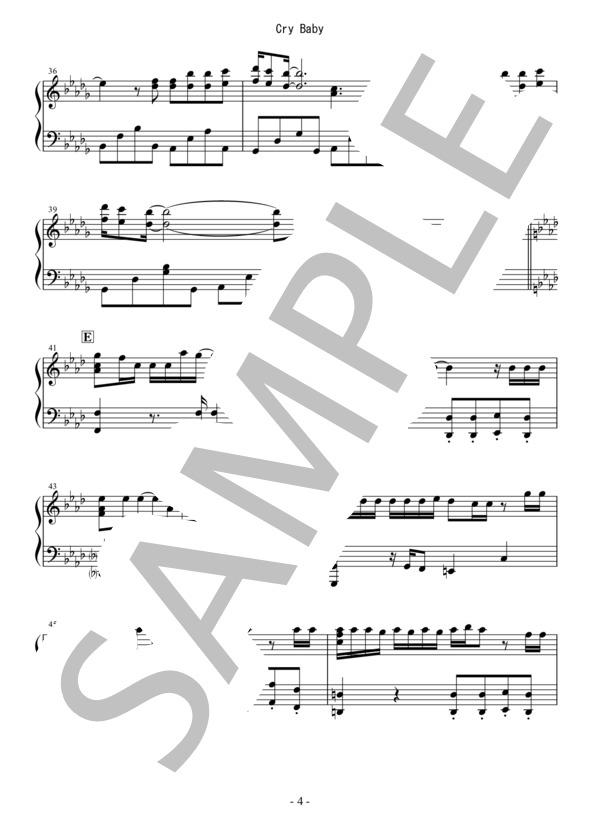 Osmb cry baby piano 4