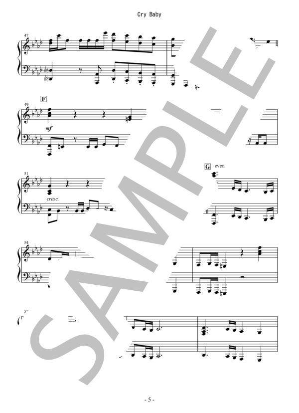 Osmb cry baby piano 5