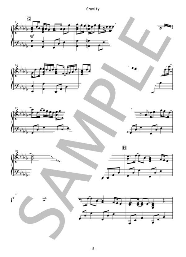 Osmb gravity piano 5
