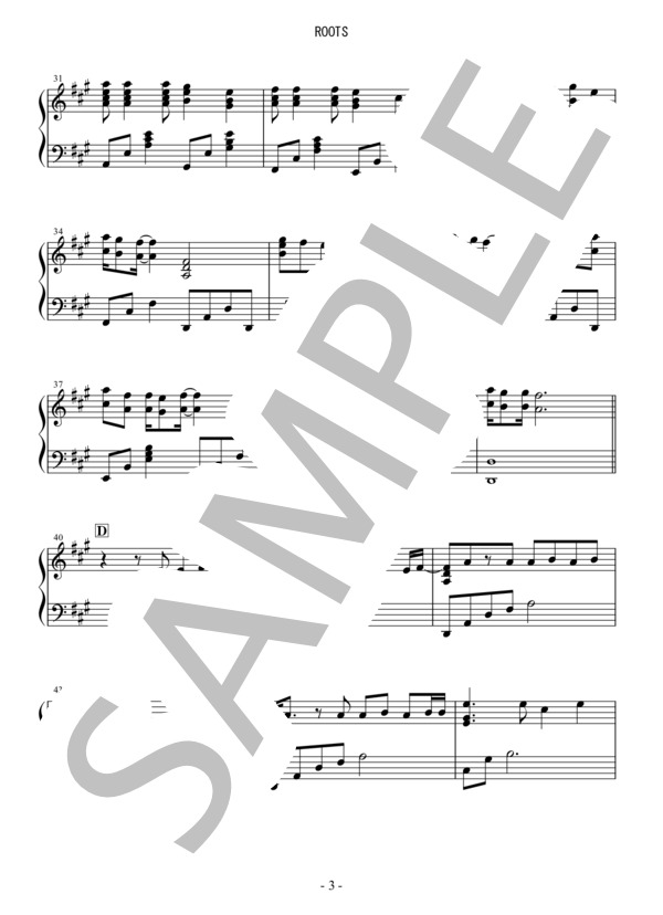 Osmb roots piano 3
