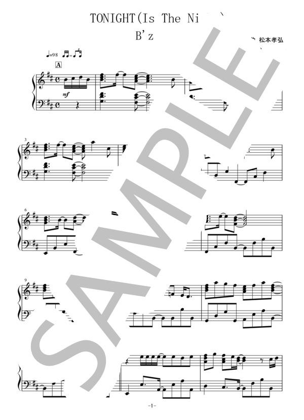 Osmb tonight piano 1