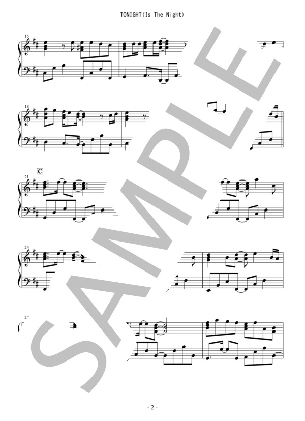 Osmb tonight piano 2