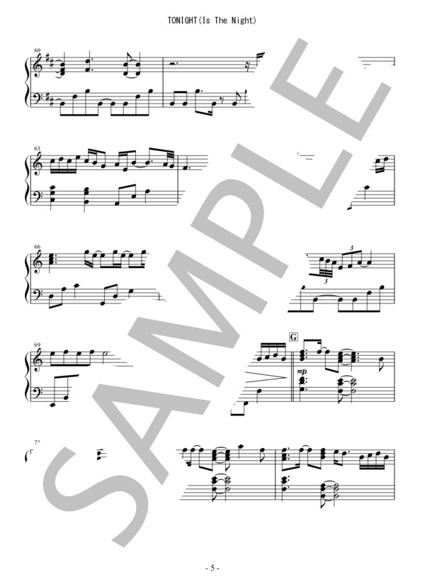 Osmb tonight piano 5