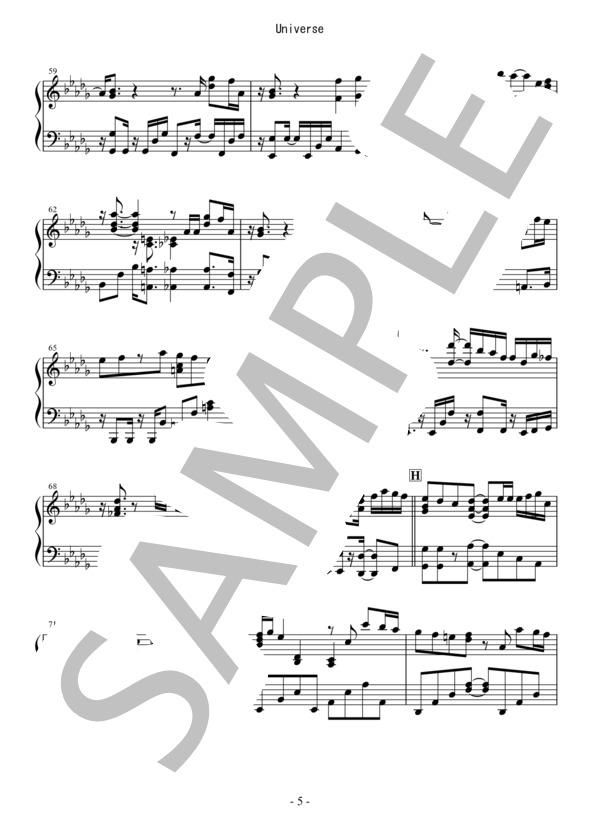 Osmb universe piano 5