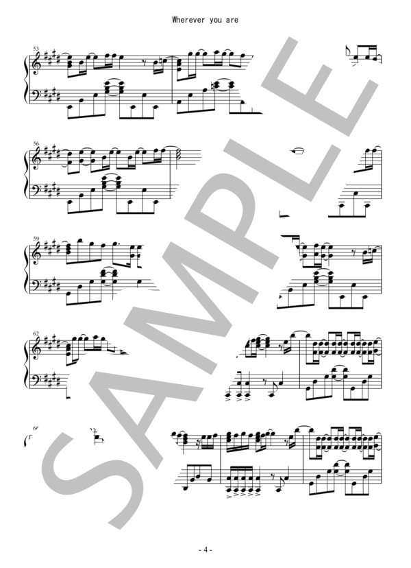 Osmb wherever piano 4