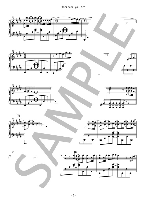 Osmb wherever piano 5