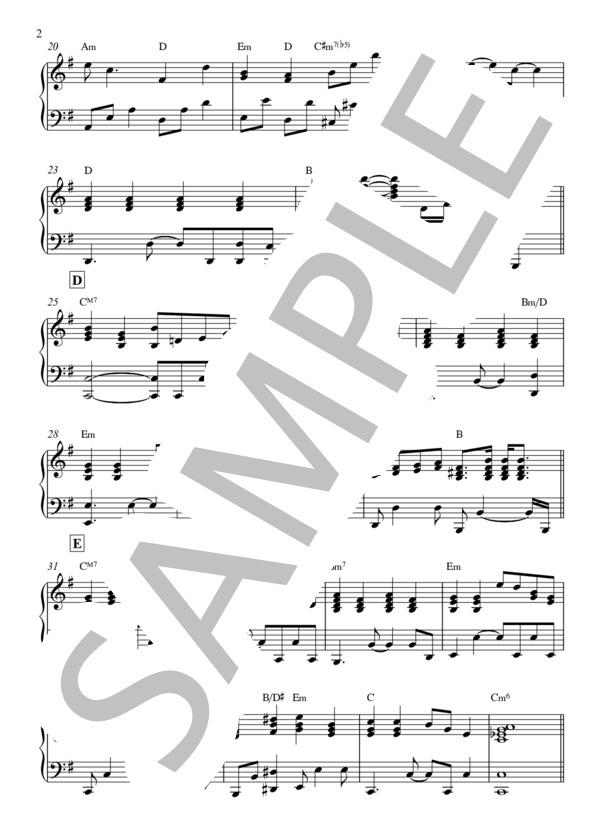 こと で 楽譜 が いる あなた ピアノ