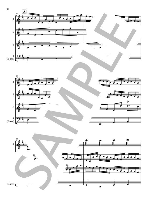 Canon marimba quartet 2