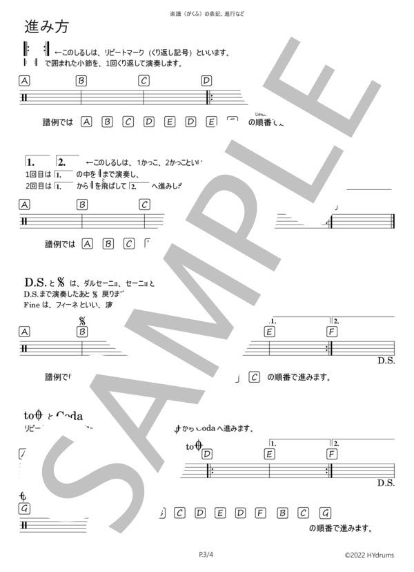 Drumscore information 3