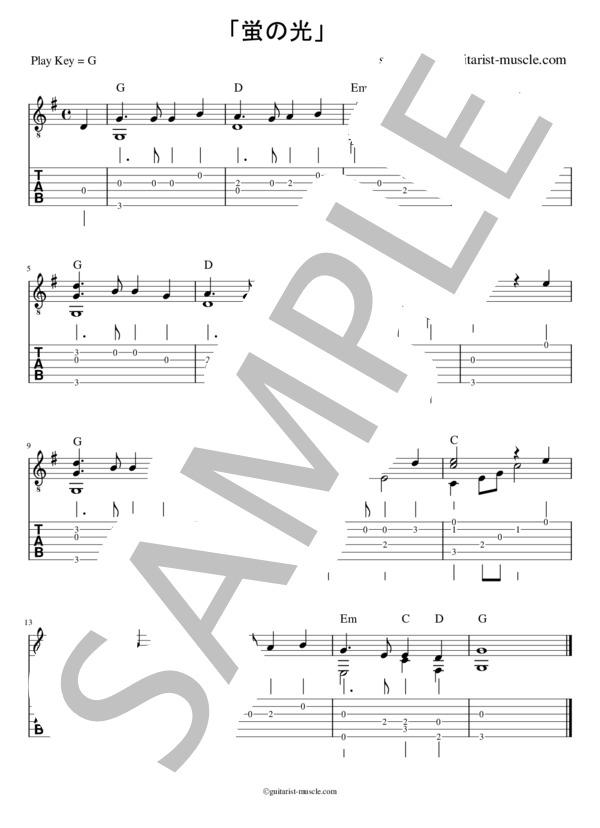 Hotarunohikari guitar 2