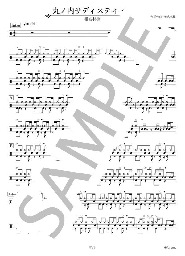 Marunoutisadistic drums 1