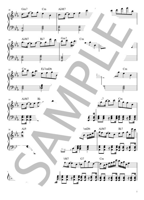 Yoru ni kakeru pianopart 3