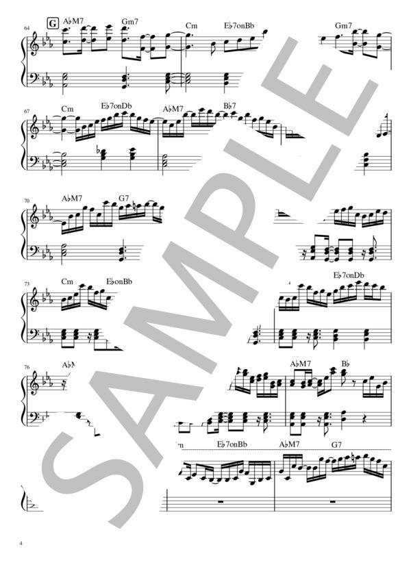 Yoru ni kakeru pianopart 4